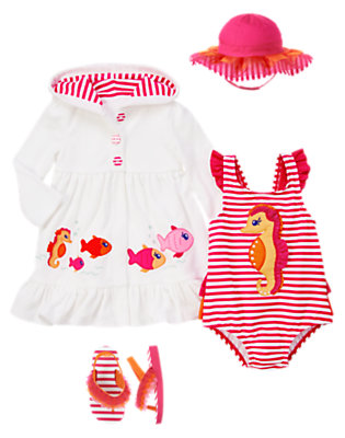 Seahorse Sweetie Outfit by Gymboree