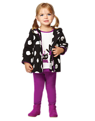 Kitties In A Row Outfit by Gymboree