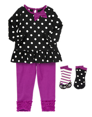 Darling in Dots Outfit by Gymboree