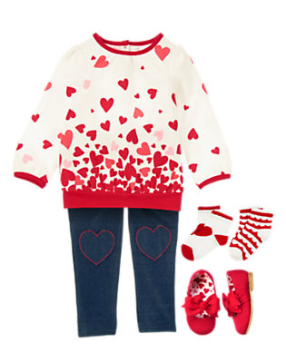 Lots of Heart Outfit by Gymboree