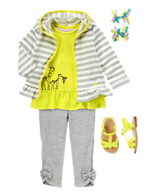 Toddler Girl's Neon Palette Outfit by Gymboree