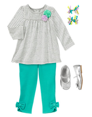 Toddler Girl's Art Club Outfit by Gymboree