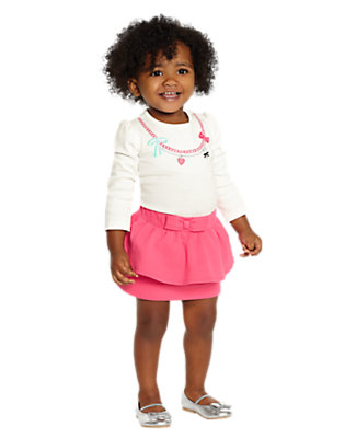 Toddler Girl's Pretty Peplum Outfit by Gymboree