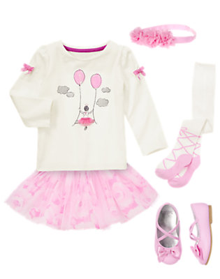 Toddler Girl's Pretty Pirouette Outfit by Gymboree