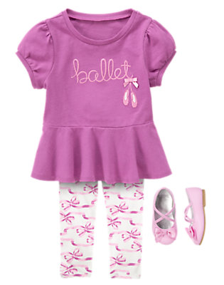 Toddler Girl's Curtain Call Outfit by Gymboree