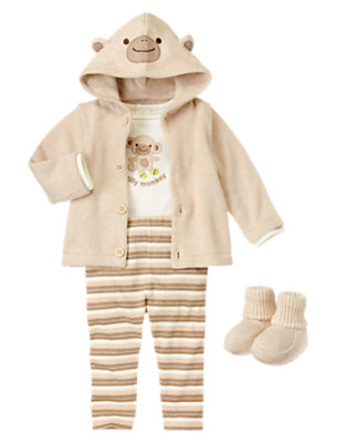 Baby's Swing Silly Monkey! Outfit by Gymboree