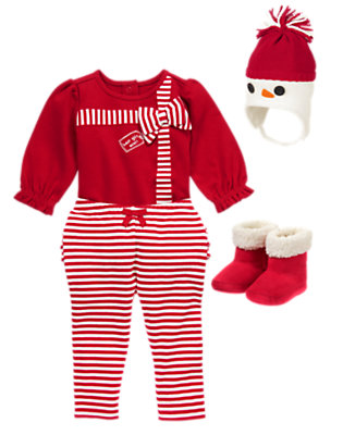 Baby's Ho Ho Holiday Outfit by Gymboree