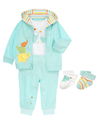 Baby's Elephant Love Outfit by Gymboree