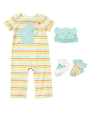 Baby's Adorable Elephants Outfit by Gymboree
