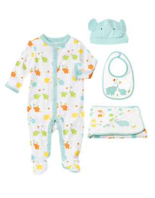 Baby's Elephants at Play Outfit by Gymboree