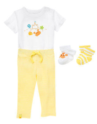 Baby's Bright and Beachy Outfit by Gymboree
