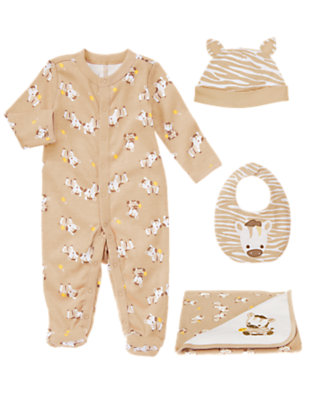 Baby's Safari Snuggle Outfit by Gymboree