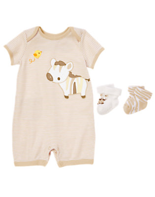 Baby's A to Zebra Outfit by Gymboree