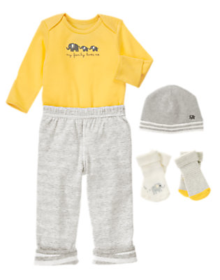 Baby's Hello Yellow Outfit by Gymboree