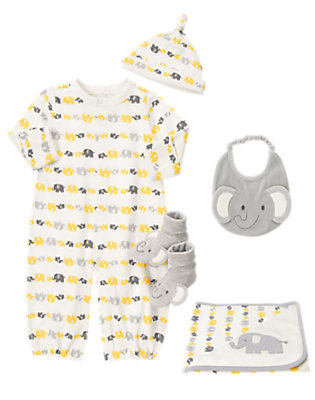 Baby's Natural Napper Outfit by Gymboree