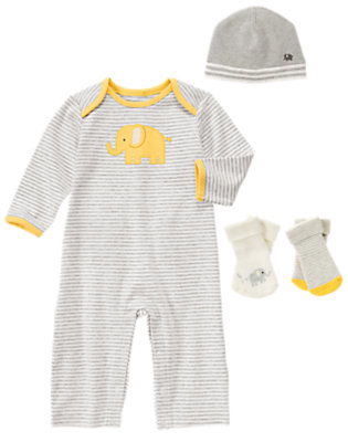 Baby's Elephant Fun Outfit by Gymboree