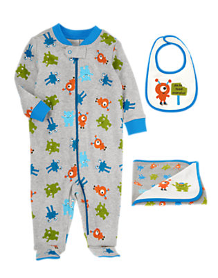 Baby's Monster Feeding Time Outfit by Gymboree