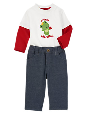 Baby's Playdate with Prince Charming Outfit by Gymboree