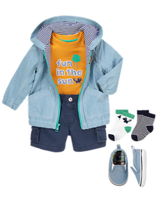 Baby's Zippety Do-Dah Outfit by Gymboree