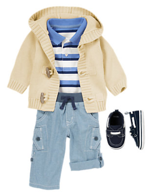 Baby's Little Blue Bird Outfit by Gymboree