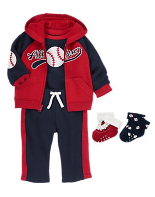 Baby's Baseball Fun Outfit by Gymboree