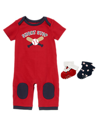 Baby's Let's Play Shortstop Outfit by Gymboree