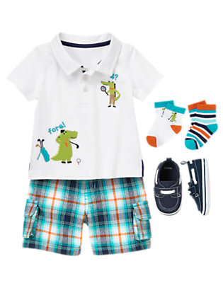 Baby's Sporty Alligator Outfit by Gymboree