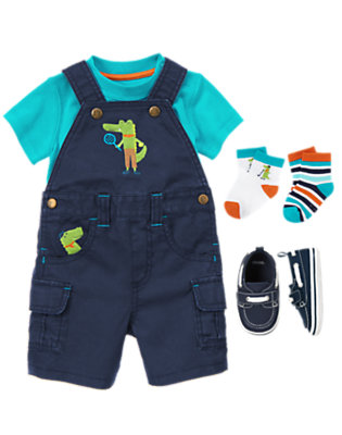 Baby's Later Gator Outfit by Gymboree