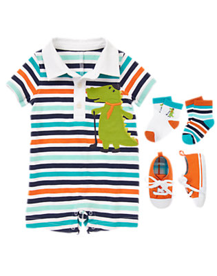 Baby's Stripe It Up Outfit by Gymboree