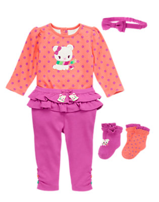Baby's Baby Take A Bow Outfit by Gymboree