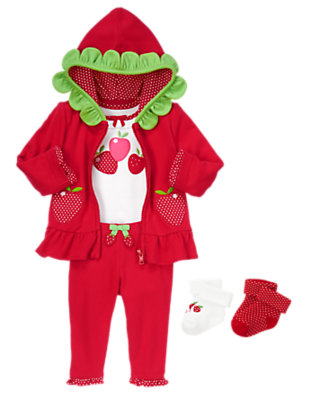 Berry Sweet Outfit by Gymboree