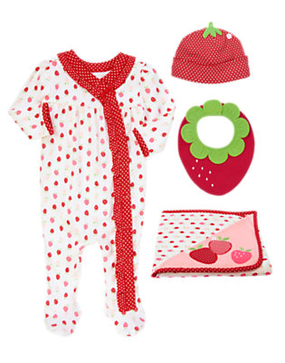 Sleeping Little Strawberry Outfit by Gymboree