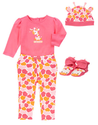 Baby's Spotted and Sweet Outfit by Gymboree