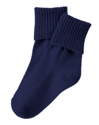 Boys Navy Basic Sock by Gymboree