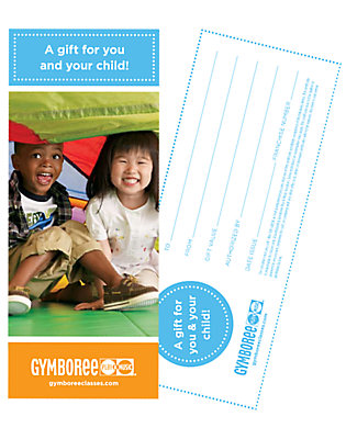 Gymboree Play & Music Gift Certificate by Gymboree