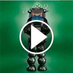 Play video for The Genuine 7 Foot Robby the Robot