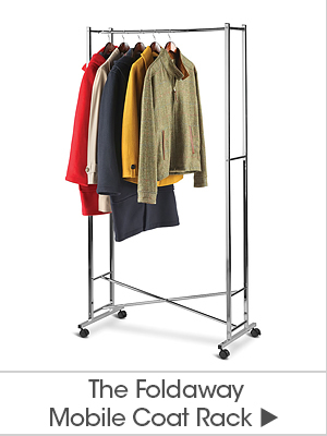The Foldaway Mobile Coat Rack