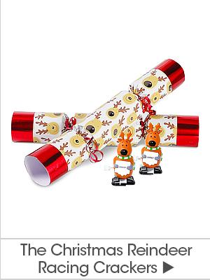 The Christmas Reindeer Racing Crackers