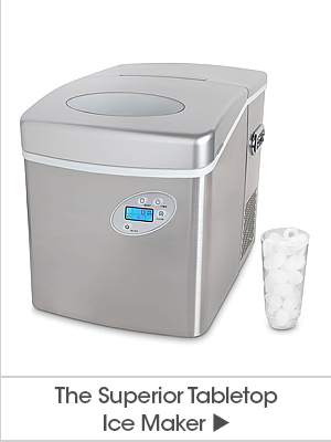 The Superior Tabletop Ice Maker