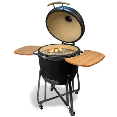 The Mushikamado Ceramic Grill.