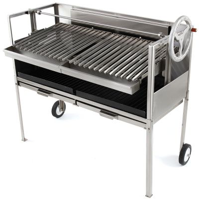 The Gourmand's Natural 24-Inch Hardwood Grill