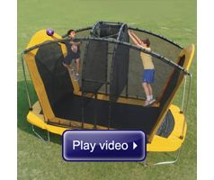 Watch The Spaceball Trampoline in action