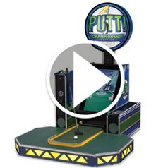 Play video for The Live putting miniature Golf Arcade Game