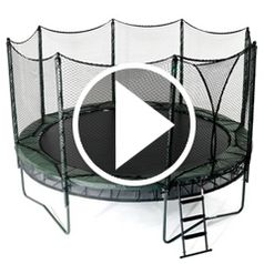 Watch The Double Bounce Trampoline in action
