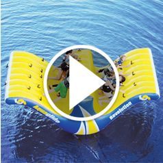 Watch The Ten Person Water Totter in action