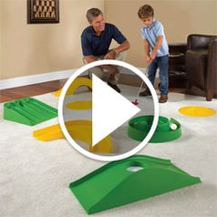 Watch The Indoor Outdoor Mini Golf Course in action