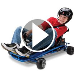 Play video for The Corner Drifting Go Cart