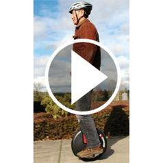 Watch The Gyroscopic Electric Unicycle in action