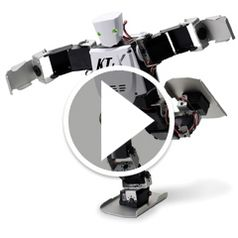 Watch The Advanced Acrobatic Robot in action
