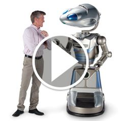 Watch The Celebrity Robotic Avatar in action